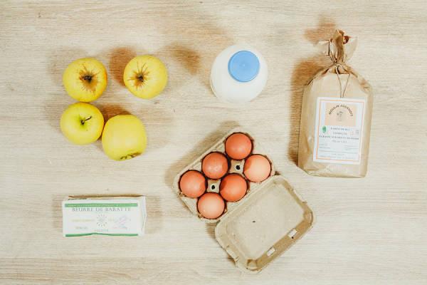 meal kit photo Kit aumônières de crêpes pommes caramel 1 - La Ruche qui dit Oui ! à la maison