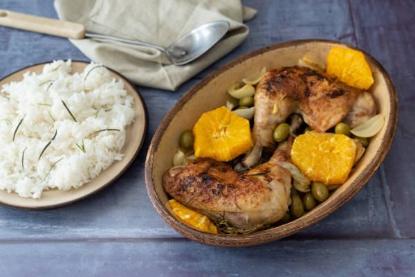 meal kit photo Kit poulet rôti olives et oranges 1 - La Ruche qui dit Oui ! à la maison
