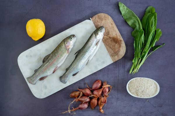 meal kit photo Truites arc-en-ciel en papillotes 0 - La Ruche qui dit Oui ! à la maison