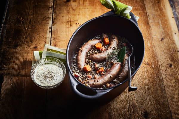 meal kit photo Kit saucisses aux lentilles (ou l'inverse) 0 - La Ruche qui dit Oui ! à la maison