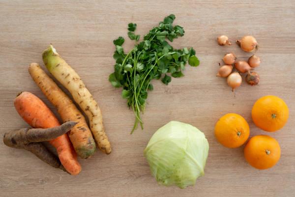 meal kit photo Salade enrubannée à l'orange 0 - La Ruche qui dit Oui ! à la maison