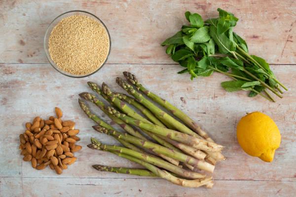 meal kit photo Kit salade de quinoa aux asperges vertes 0 - La Ruche qui dit Oui ! à la maison