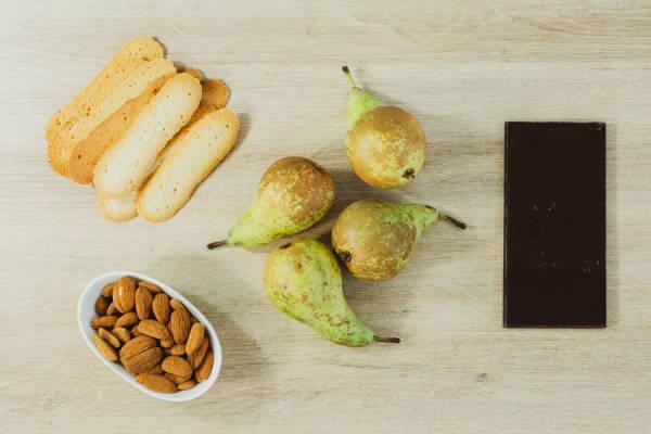 meal kit photo Kit poires Belle Hélène archi-chocolatées 1 - La Ruche qui dit Oui ! à la maison