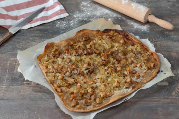 meal kit photo Kit flammekueche comme là-bas 1 - La Ruche qui dit Oui ! à la maison