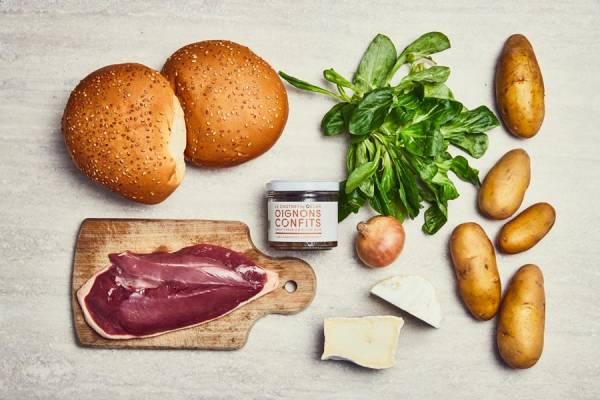 meal kit photo Burger 3 étoiles 1 - La Ruche qui dit Oui ! à la maison