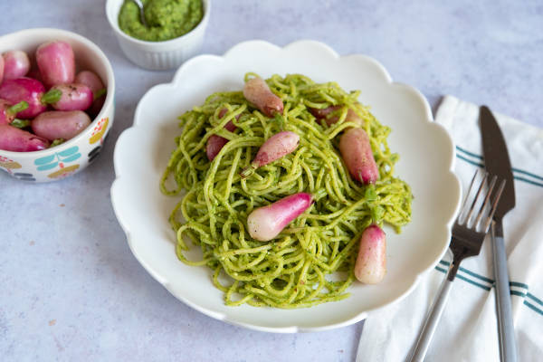 meal kit photo Kit radis cuisinés sans déchets 1 - La Ruche qui dit Oui ! à la maison