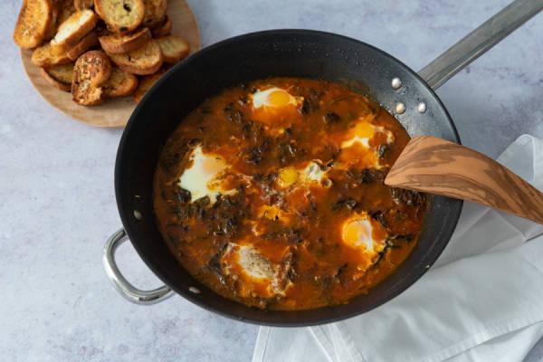 meal kit photo Chakchouka de chez nous 1 - La Ruche qui dit Oui ! à la maison