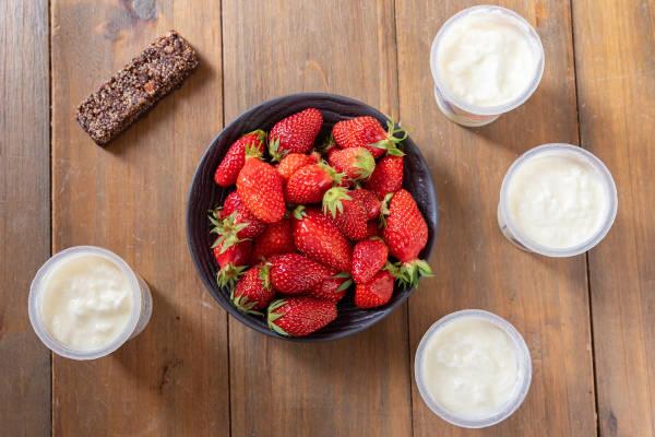 meal kit photo Kit éclats glacés à la fraise 0 - La Ruche qui dit Oui ! à la maison