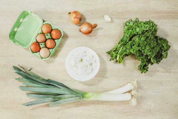 meal kit photo Omelette toute verte 1 - La Ruche qui dit Oui ! à la maison