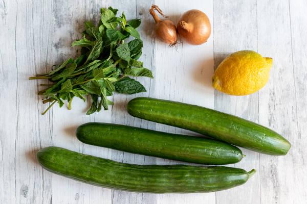 meal kit photo Concombre ultra-frais à la menthe 0 - La Ruche qui dit Oui ! à la maison