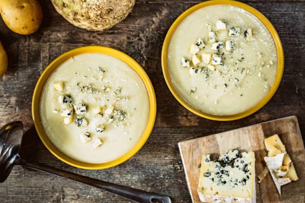 meal kit photo Velouté blanc de céleri-rave au bleu d'Auvergne 0 - La Ruche qui dit Oui ! à la maison