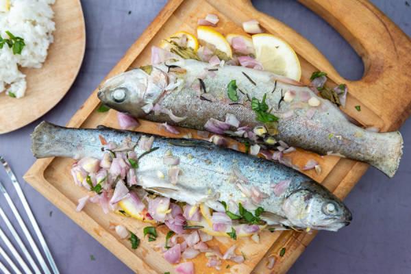meal kit photo Truites arc-en-ciel en papillotes 1 - La Ruche qui dit Oui ! à la maison