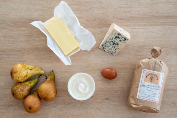 meal kit photo Kit tarte rustique poire-bleu 0 - La Ruche qui dit Oui ! à la maison