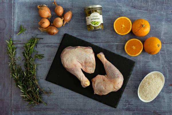 meal kit photo Kit poulet rôti olives et oranges 0 - La Ruche qui dit Oui ! à la maison
