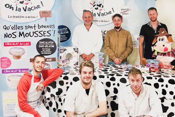 Oh la Vache - Créateur de mousses au chocolat - La Ruche qui dit Oui ! à la maison