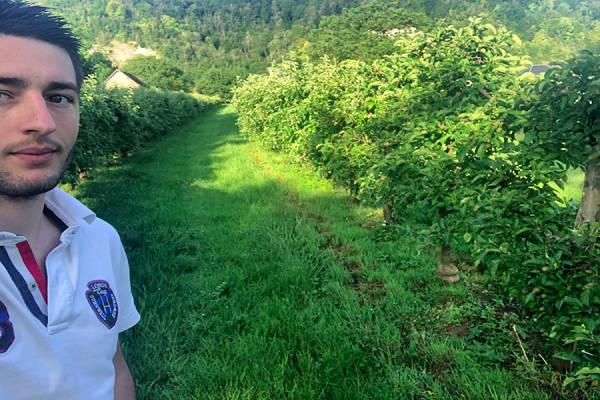 Producteur Valentin GRAIN - Arboriculteur - La Ruche qui dit Oui ! à la maison