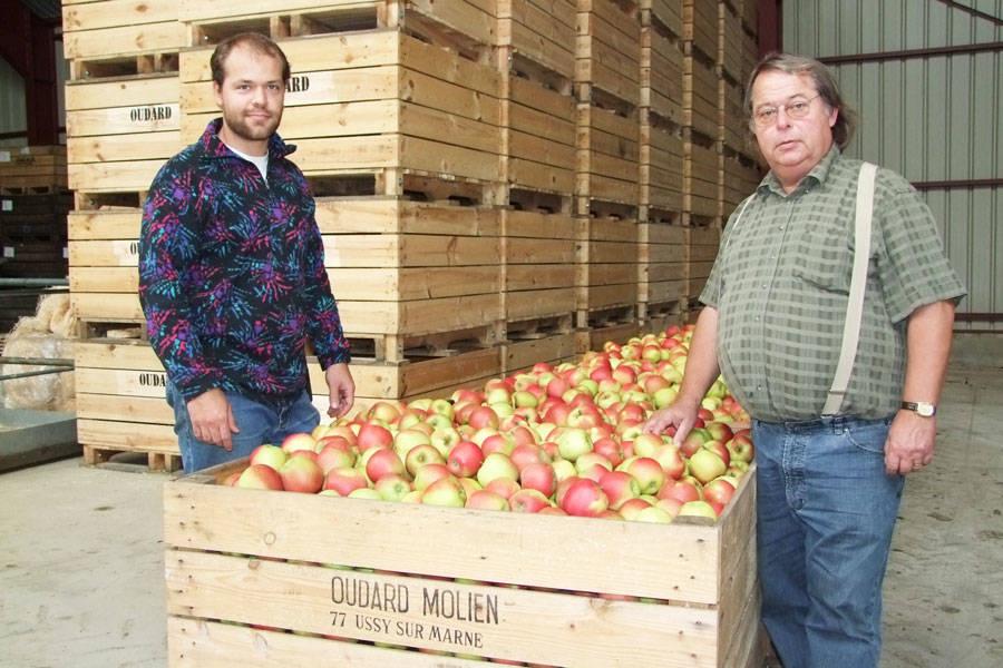 Vergers de Molien - Producteur de pommes, poires et jus - La Ruche qui dit Oui ! à la maison