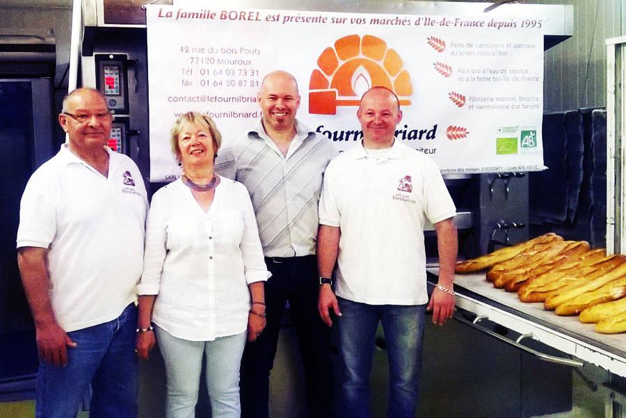 Le Fournil Briard - Boulanger - La Ruche qui dit Oui ! à la maison