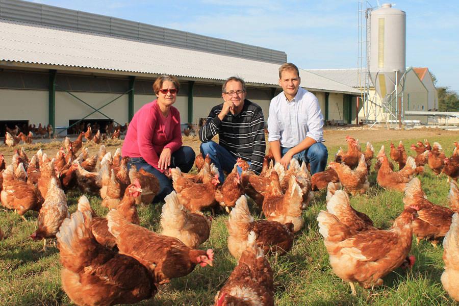 Ferme des Parrichets - Eleveur de poules - La Ruche qui dit Oui ! à la maison