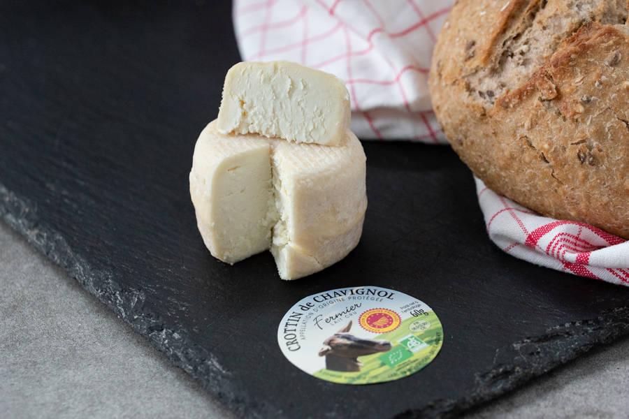 Crottin de Chavignol AOP BIO - EARL de Montriveau - La Ruche qui dit Oui ! à la maison