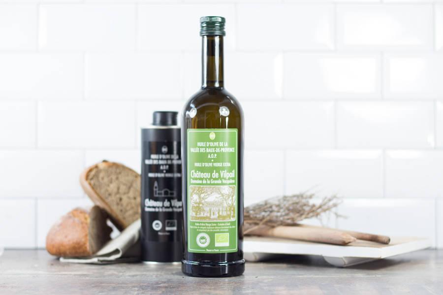Huile d'olive Vierge AOP Extra BIO - Chateau de Vilpail - La Ruche qui dit Oui ! à la maison