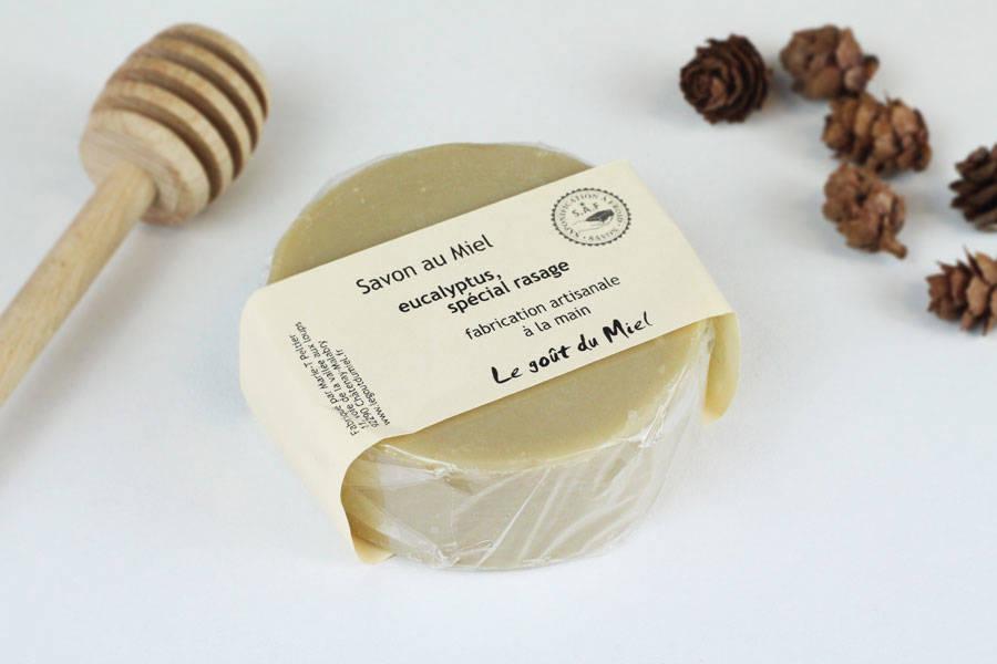 Savon de rasage Eucalyptus - Le Goût du Miel - La Ruche qui dit Oui ! à la maison