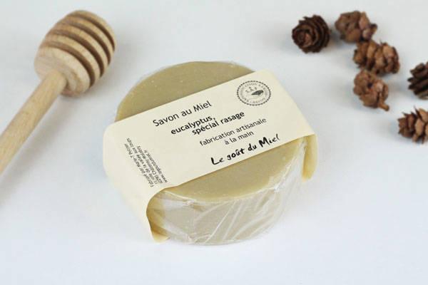Savon de rasage Eucalyptus - Le Goût du Miel