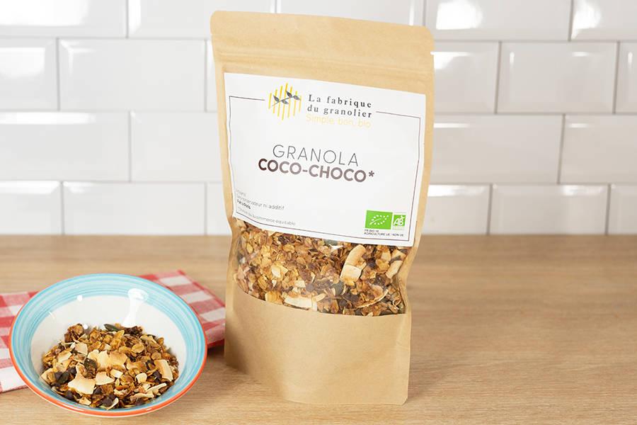 Granola Coco Choco BIO - La Fabrique du Granolier - La Ruche qui dit Oui ! à la maison