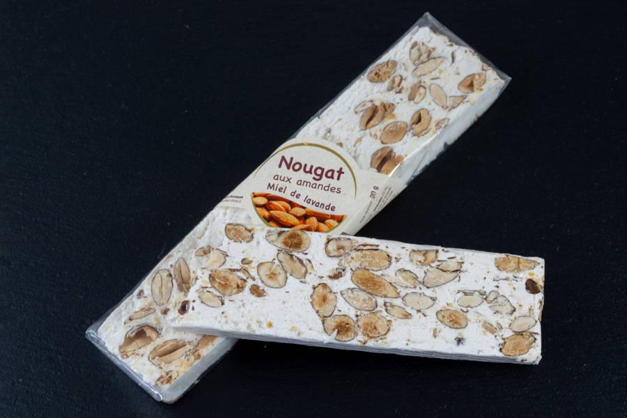 Nougat tendre blanc miel de lavande - Les amandes du Mont Bouquet - La Ruche qui dit Oui ! à la maison
