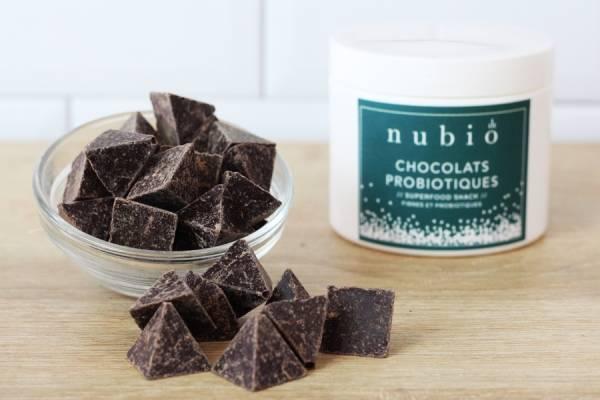 Chocolats Probiotiques BIO - Nubio