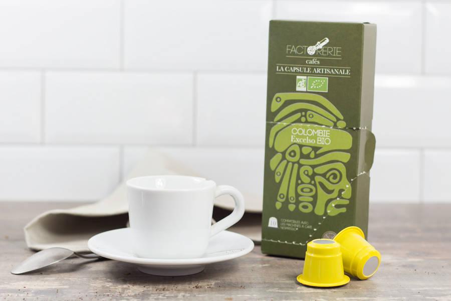 Colombie BIO capsules - Cafés Factorerie - La Ruche qui dit Oui ! à la maison