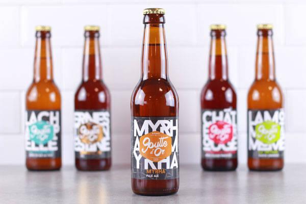Bière Pale Ale Myrha - Brasserie de la Goutte d'Or