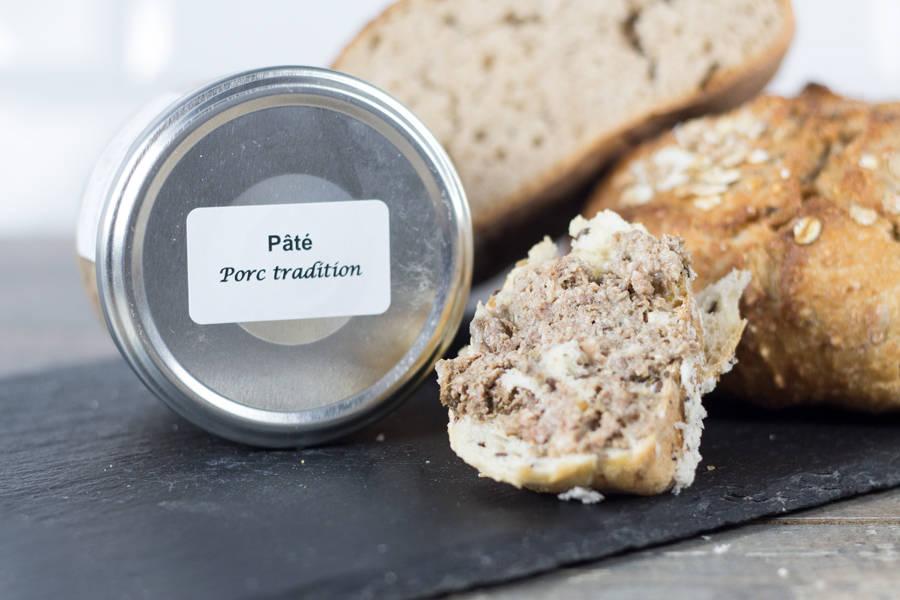 Pâté de porc tradition - Ferme les Barres - La Ruche qui dit Oui ! à la maison