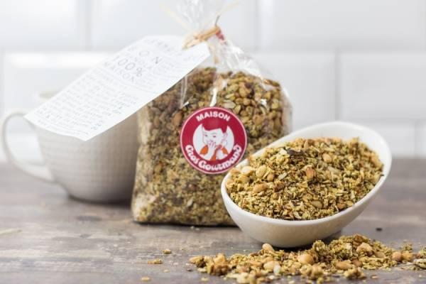 Granola salé - Gros Gourmand - Le Comptoir Local