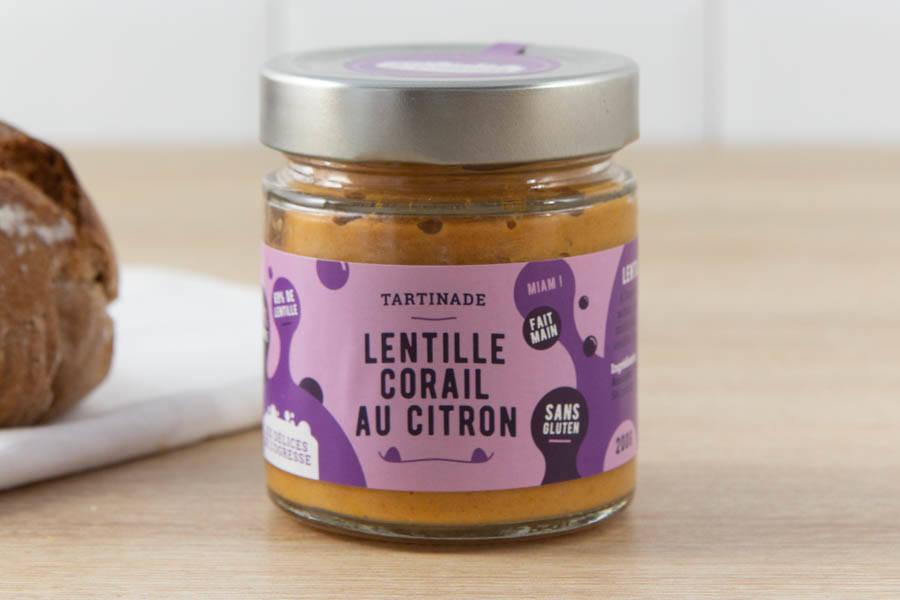 Lentille corail au citron BIO - Les Délices de l'Ogresse - La Ruche qui dit Oui ! à la maison