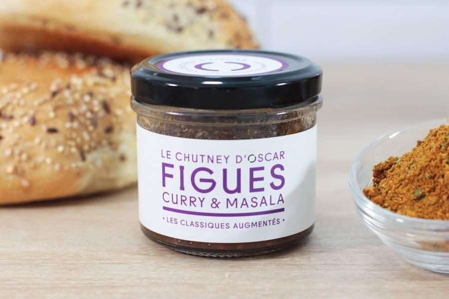 Chutney de figues, curry & masala BIO - By Oscar - La Ruche qui dit Oui ! à la maison