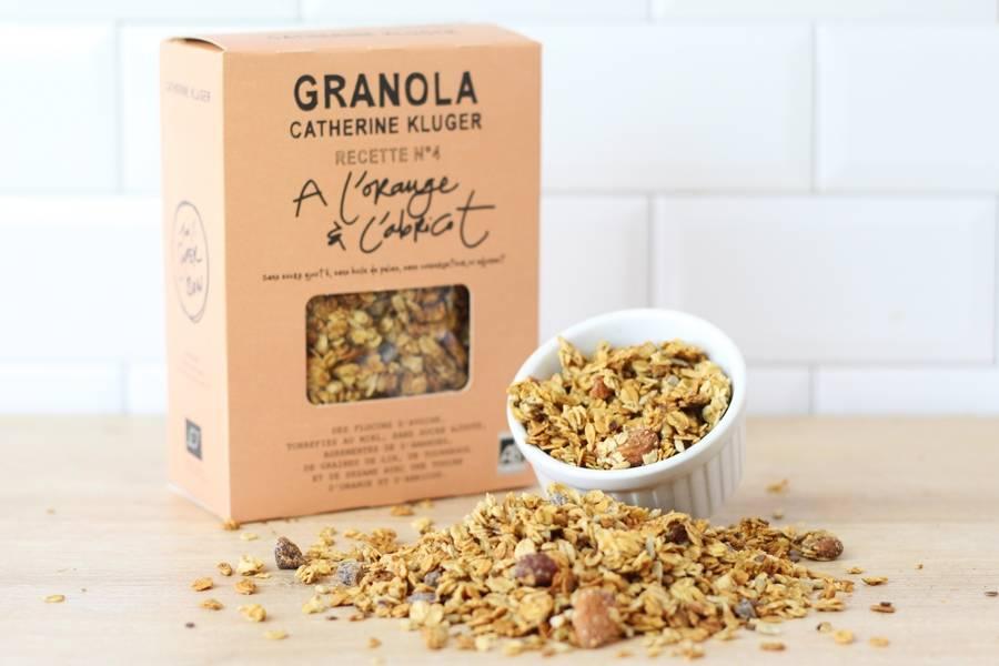 Granola Orange et Abricot BIO - Catherine Kluger Granola - La Ruche qui dit Oui ! à la maison