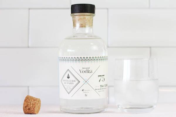 Flavored Vodka Tea Time - Distillerie de Paris