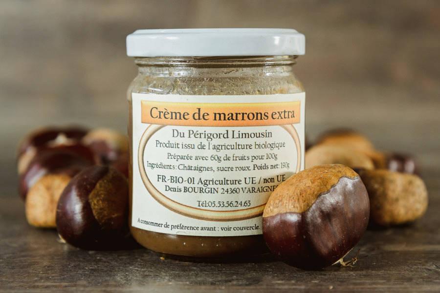 Crème de marrons extra BIO - Châtaigne Gourmande - La Ruche qui dit Oui ! à la maison