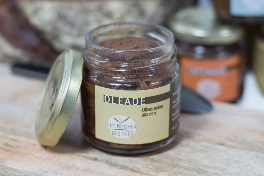 Oléade olives noires aux noix - Le rocher des fées - La Ruche qui dit Oui ! à la maison