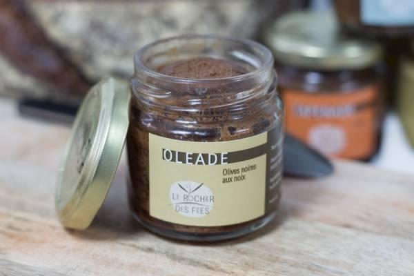 Oléade olives noires aux noix - Le rocher des fées - Le Comptoir Local