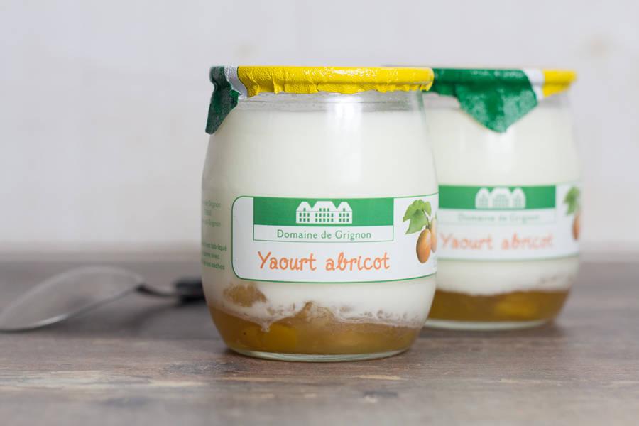 Yaourt abricot - Ferme de Grignon - La Ruche qui dit Oui ! à la maison