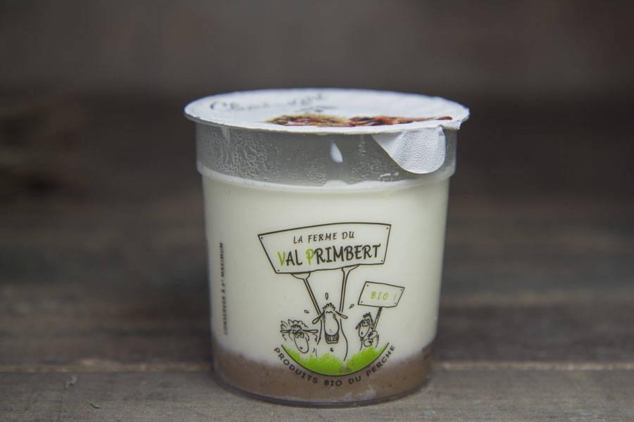 Yaourt de brebis châtaigne BIO - Ferme du Val Primbert - La Ruche qui dit Oui ! à la maison