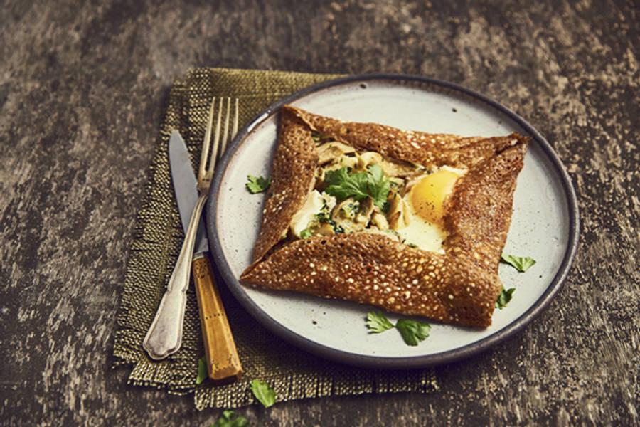 Galettes de sarrasin végétariennes - La Ruche Mama - La Ruche qui dit Oui ! à la maison