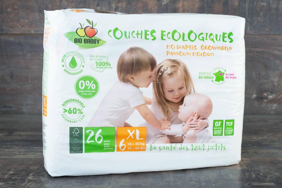 Couches Jetables x26 (XL - 16/30kg) - BB Distribe - La Ruche qui dit Oui ! à la maison