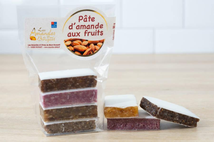 Pâte d'amande aux fruits - Les amandes du Mont Bouquet - La Ruche qui dit Oui ! à la maison