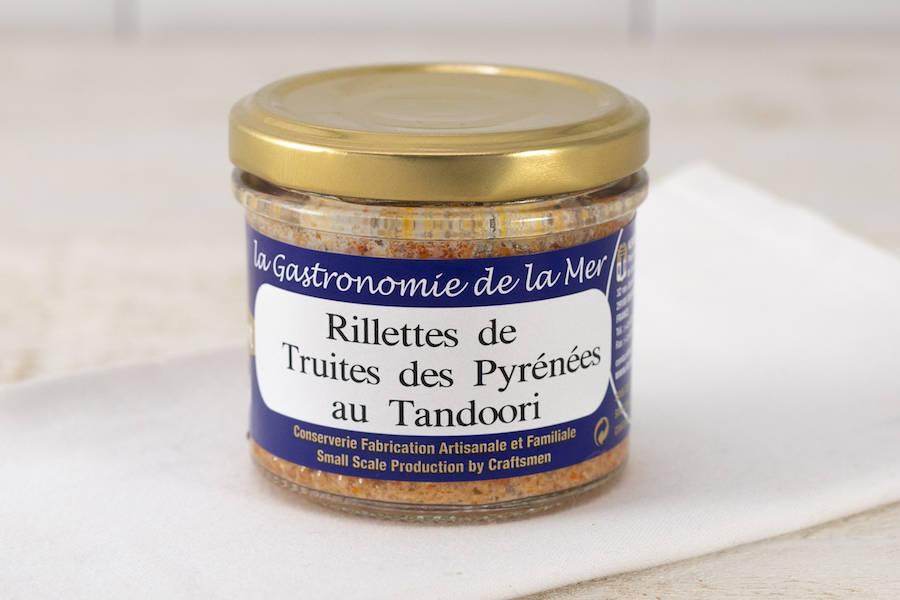 Rillettes de Truites des Pyrénées au Tandoori - Conserverie artisanale Kerbriant - La Ruche qui dit Oui ! à la maison