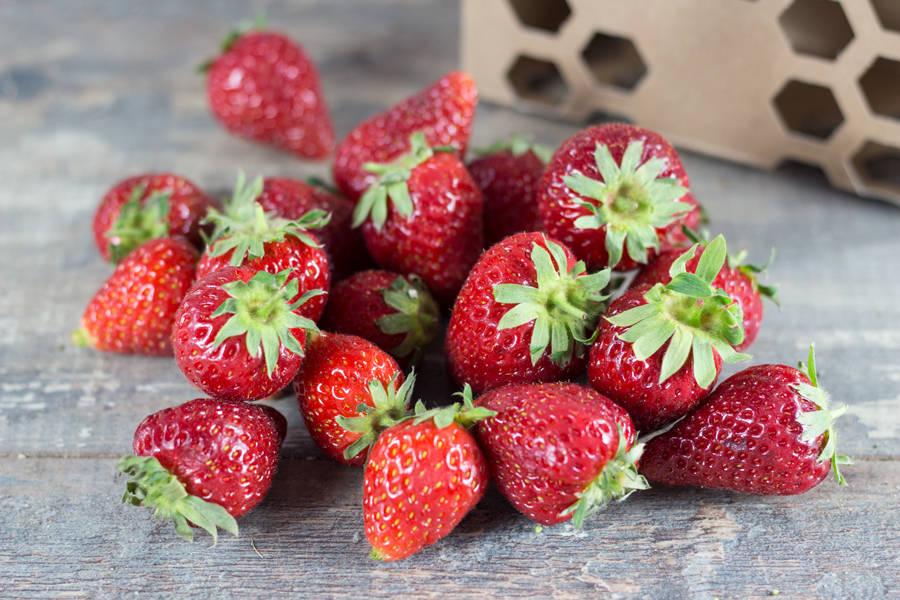 Mélange de fraises (en conversion BIO) - Ferme de Chaillotine - La Ruche qui dit Oui ! à la maison