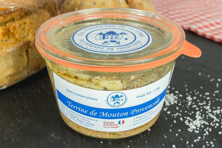 Terrine de mouton à la provençale - Le Goût des Prés - La Ruche qui dit Oui ! à la maison