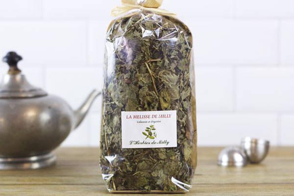Tisane mélisse de Milly - L'Herbier de Milly - Le Comptoir Local